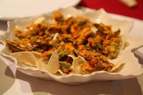 SAFFRON BISTRO : yummie bhindi