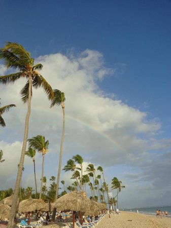 Luxury Bahia Principe Ambar Blue Don Pablo Collection: EVEN A RAINBOW..