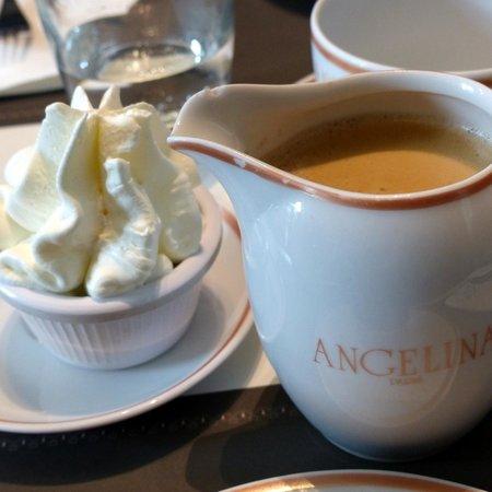 Angelina Tea Room Hong Kong
