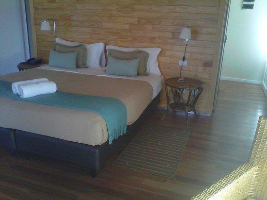 Delta Eco Spa: excelente la cama y la habitacion completa.