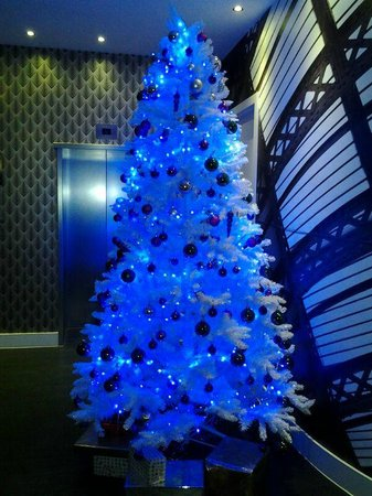 Hotel Indigo Newcastle: Lovely Christmas tree