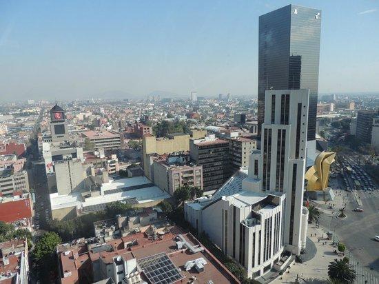 Krystal Grand Reforma Uno Mexico City : Vista del Hotel Medlia Reforma