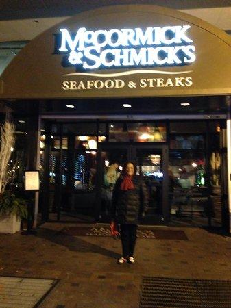 McCormick amp; Schmick39;s: Outside McCormick amp; Smick