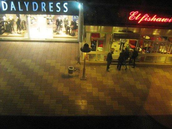 Hilton Alexandria Green Plaza : مشهد الغرفة على الممر الرئيسي لجرين بلازا