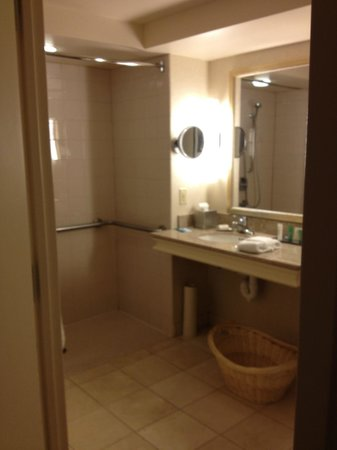 Hilton Madison Monona Terrace: Bath in accessible room