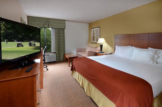 Holiday Inn Express Raleigh-Durham Airport : King Bed Guest Room