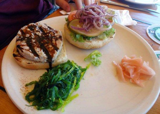 Skipjack's Seafood Grill, Bar & Fish Market : Fish Sandwich