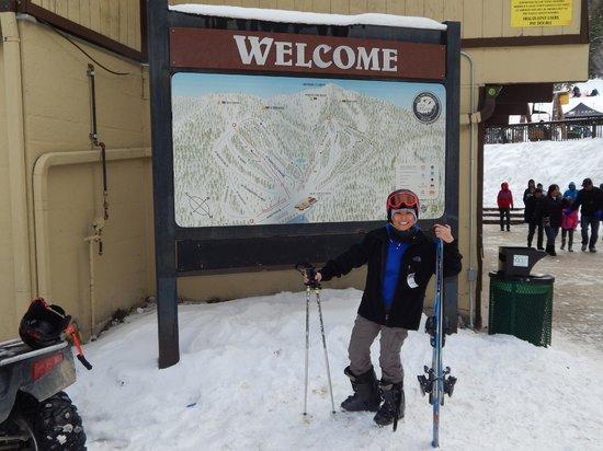 Lee Canyon Resort: Dia de ski en Las Vegas