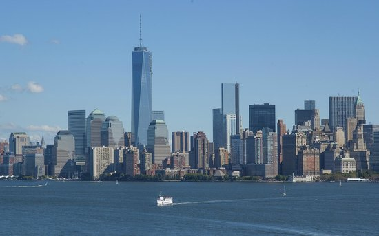 Statue Cruises: Manhattan from the cruise