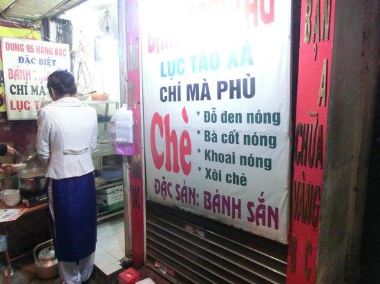 Hanoi Legacy Hotel - Bat Su : 近所のChe屋さん