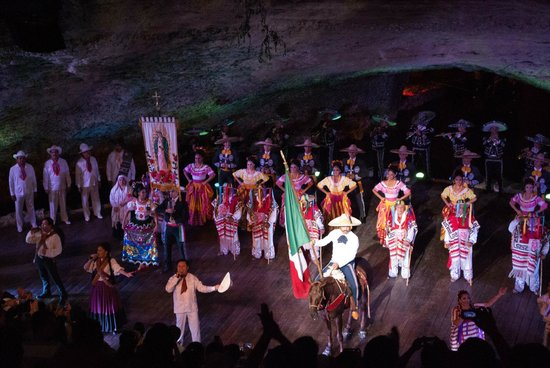 Xcaret Eco Theme Park: Nightly show