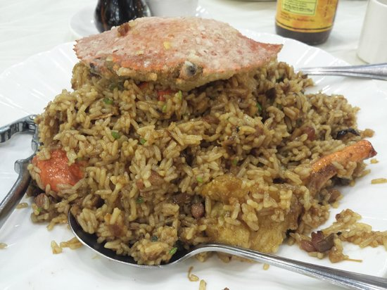 King Chef Seafood Restaurant: Crab Rice