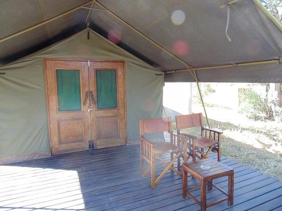 Simbavati River Lodge: A cabana