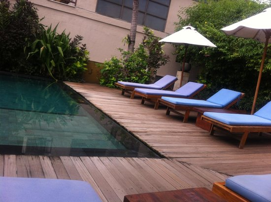 The Beach House Resort: Pool bed