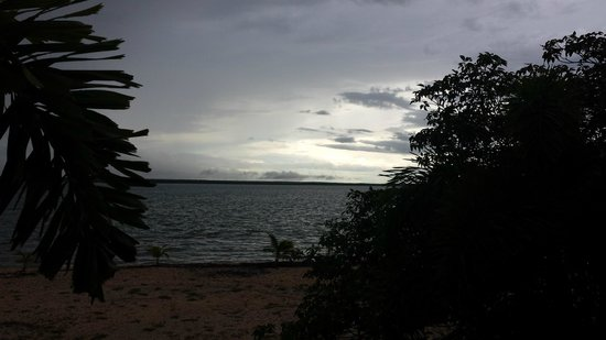 Crab Claw Island Resort: evening view