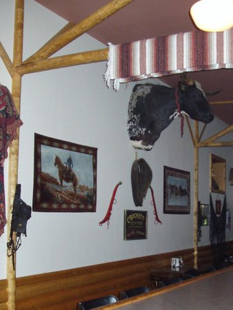 Ranch House bar area in Fullerton, ND