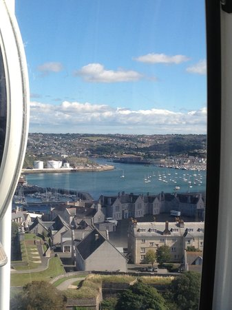 Plymouth Hoe: View from the top