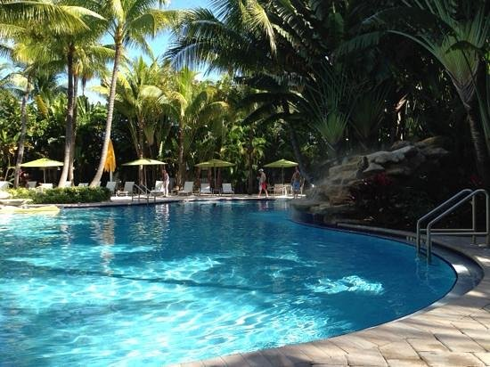 The Inn at Key West: one half of pool