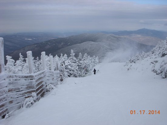 Sugarbush Mountain Ski Resort: Panorama on top of Mount Ellen