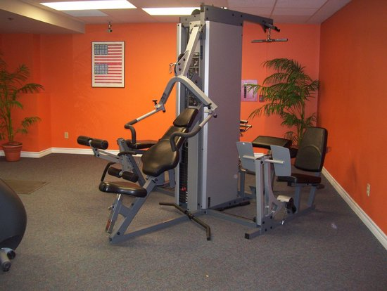 The Metcalfe Hotel: gym