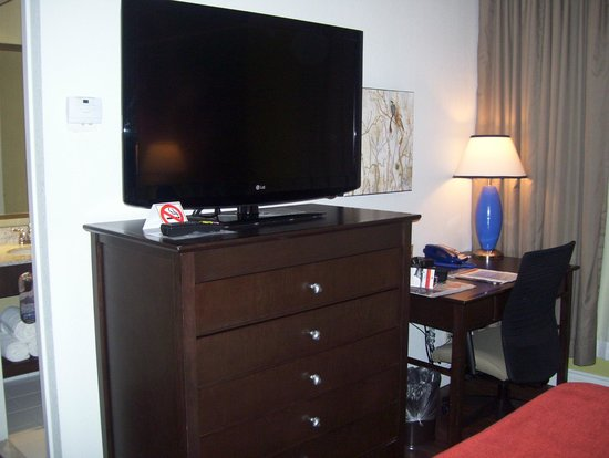 Hotel Indigo Ottawa Downtown: tv and work station