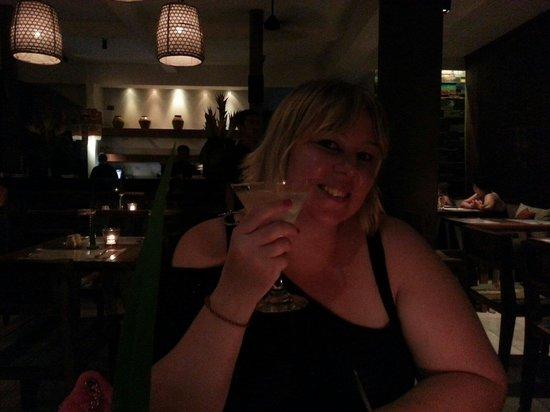 Mozzarella: Mmmm lychee martini