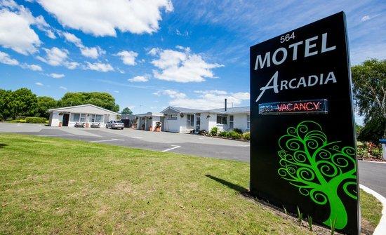 Arcadia Motel: Front