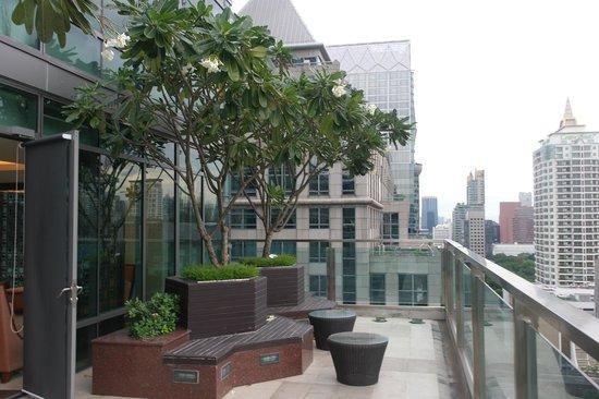Sivatel Bangkok : Вид с балкона лобби