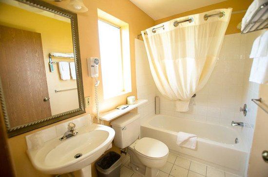 Tulip Inn Mt. Vernon: Bathroom