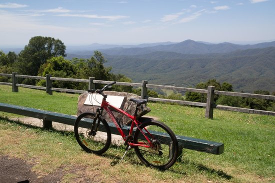 Running Wild Adventure Tours: Our Bike at the Lookout