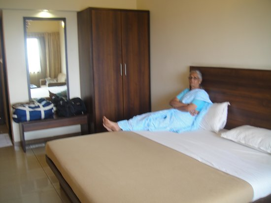 Hotel Suman Residency: Room from inside view
