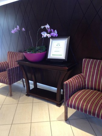 City Lodge Hotel OR Tambo Airport: The Hotel's Certificate of Excellence