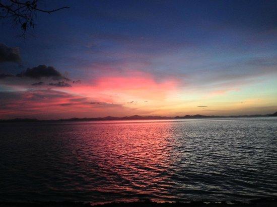 Atwayan Beach: Beautiful sunset!
