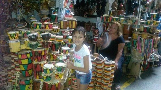 Produtos à venda no Mercado Modelo de Salvador