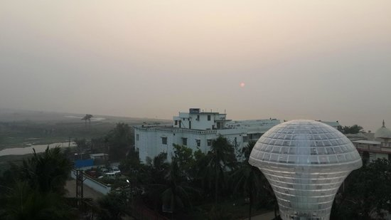 Nayak Beach Resort: view from rooftop..