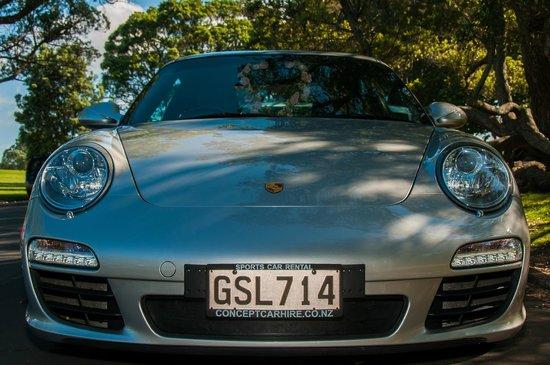 Concept Car Hire: Porsche 911
