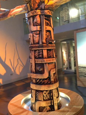 The Museum of Somerset: Carved tree