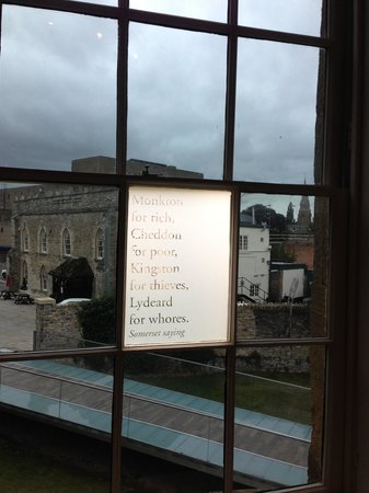 The Museum of Somerset: One of the quotations