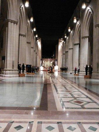 Washington National Cathedral : interior