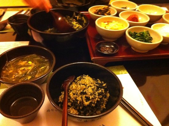 Balwoo Gongyang : type of vegetarian food