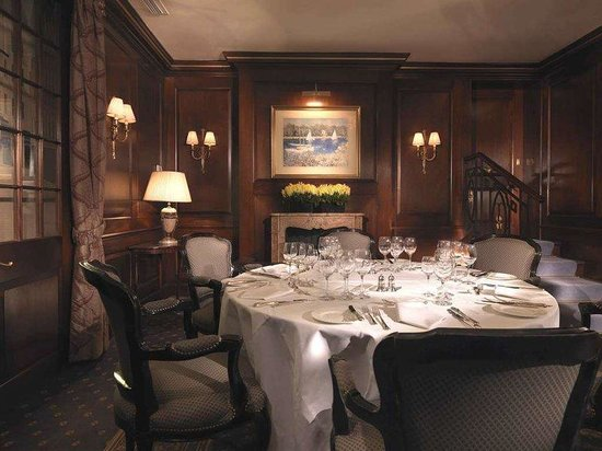 The Stafford London: Panel Room for dining