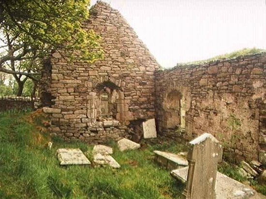 Dunkineely, Irland: Killaghtee Old Church