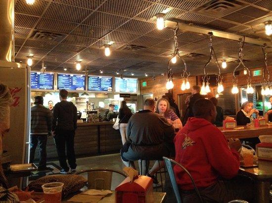 BurgerFi: Ambiance assurée
