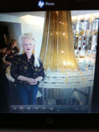 Dao Fusion Cuisine & Lounge: Myself at Guerlain on the Champs de Elysse, Paris