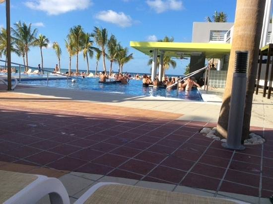 Hotel Riu Palace Jamaica: view from fav chaise