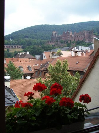 Gasthaus Hackteufel: View from room on top floor!