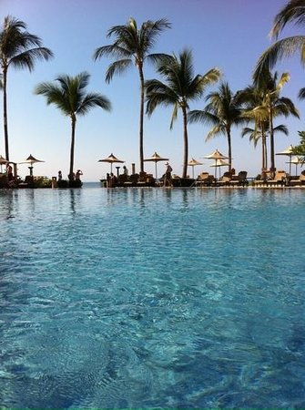 Villa La Estancia Beach Resort & Spa Riviera Nayarit : in the lovely pool, facing the beach.