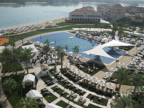 The Ritz-Carlton Abu Dhabi, Grand Canal: View from our room