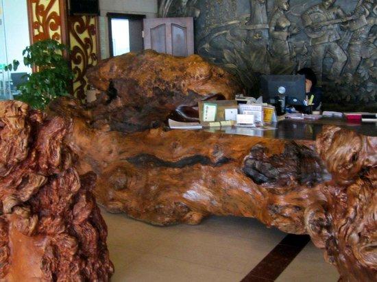 Yunti Hotel: Reception desk