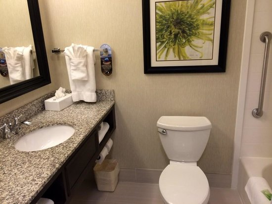 Holiday Inn Express Neptune: Bathroom